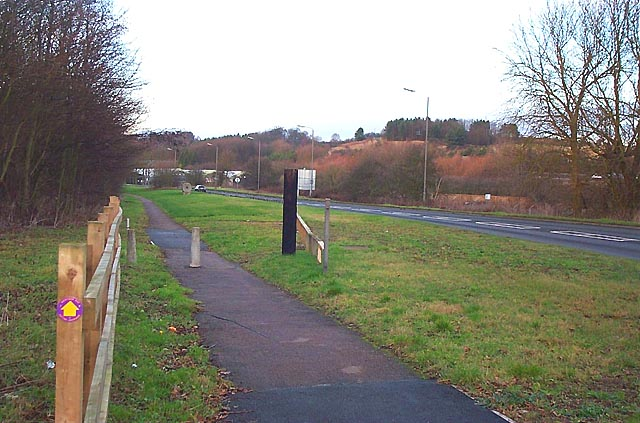 The Derwent Valley Heritage Way, Little Eaton - geograph.org.uk - 18639