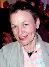 Image of Laurie Anderson from Wikidata