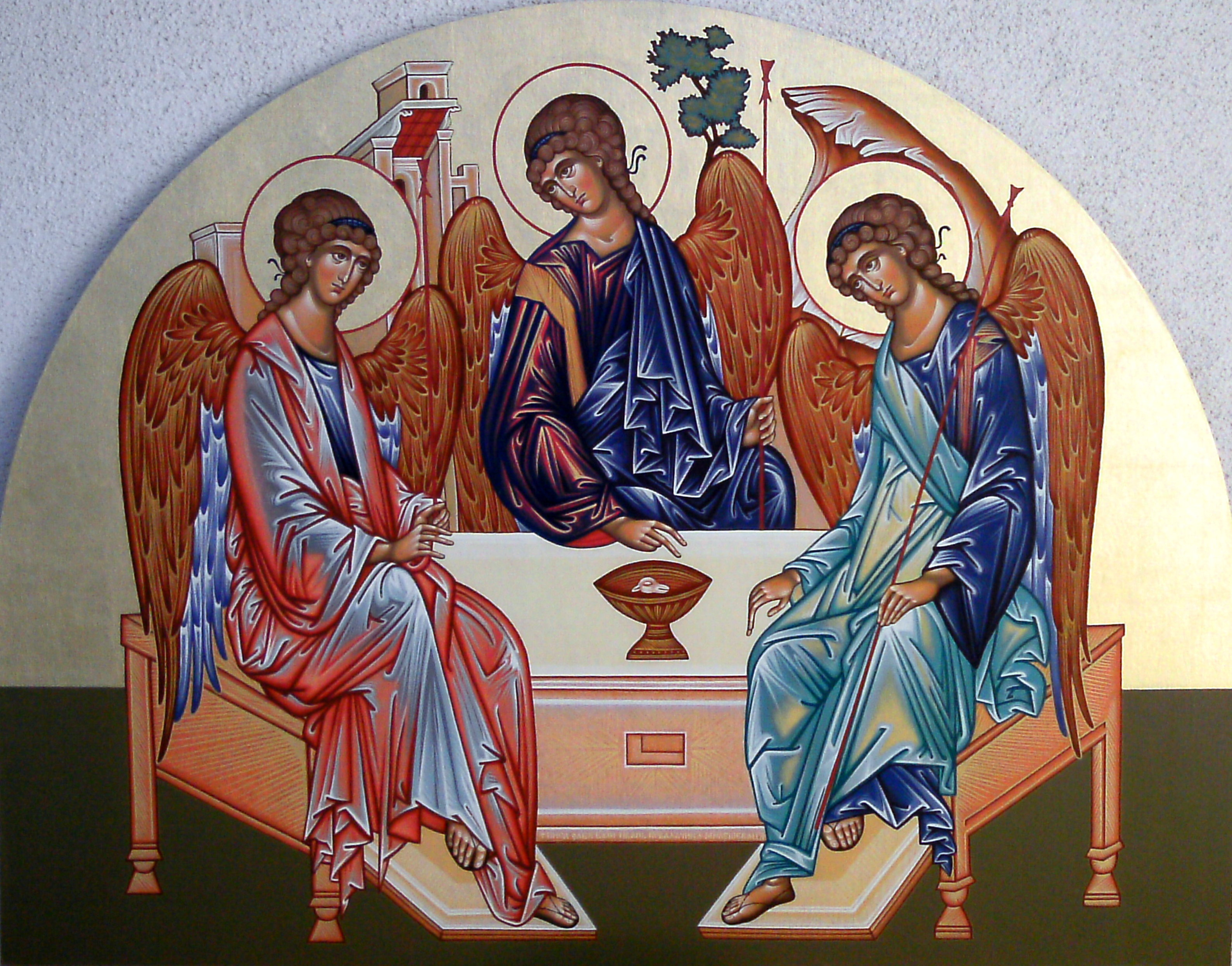 Image result for holy trinity icon