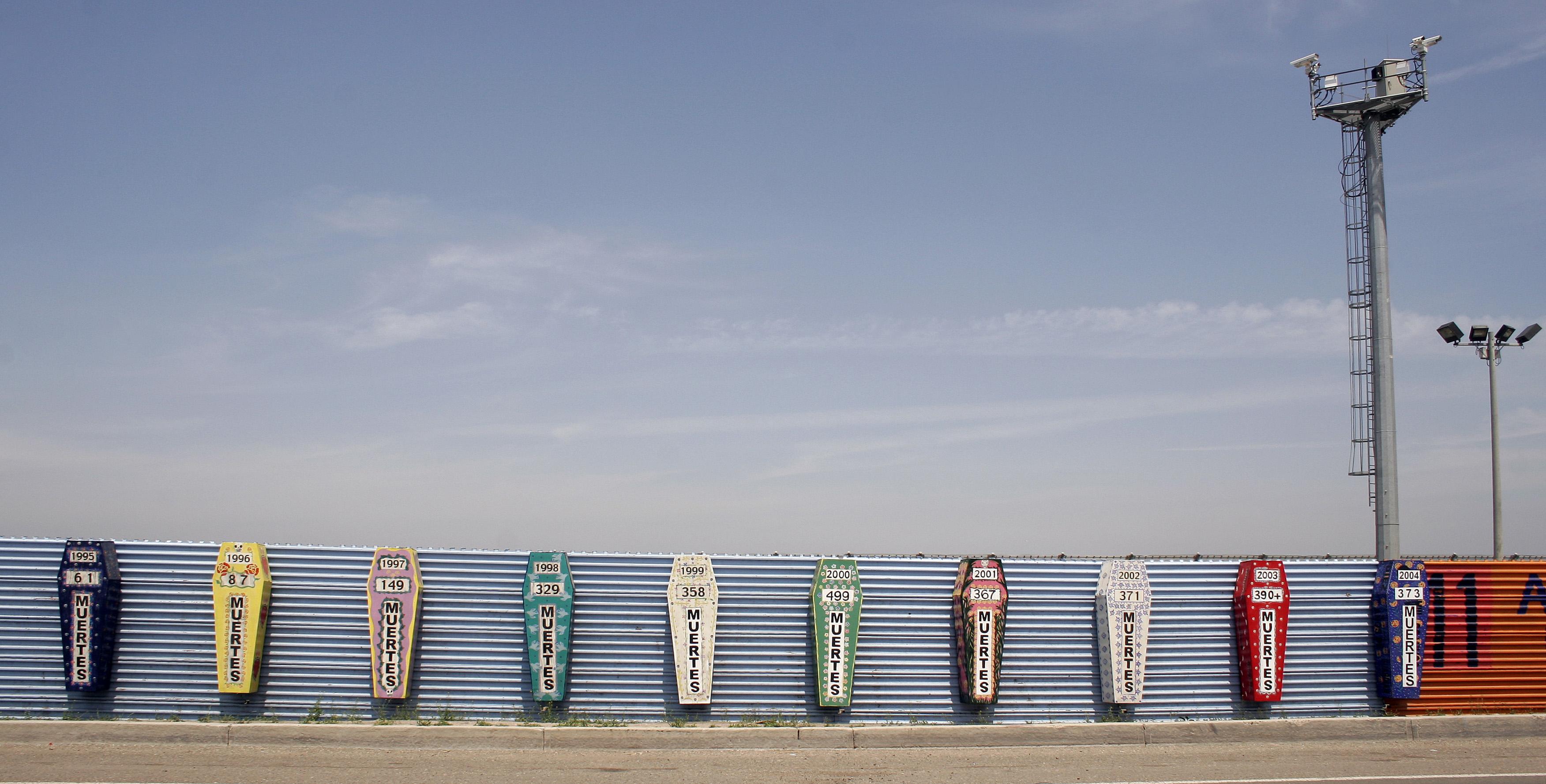 USA-Mexico Border Wall