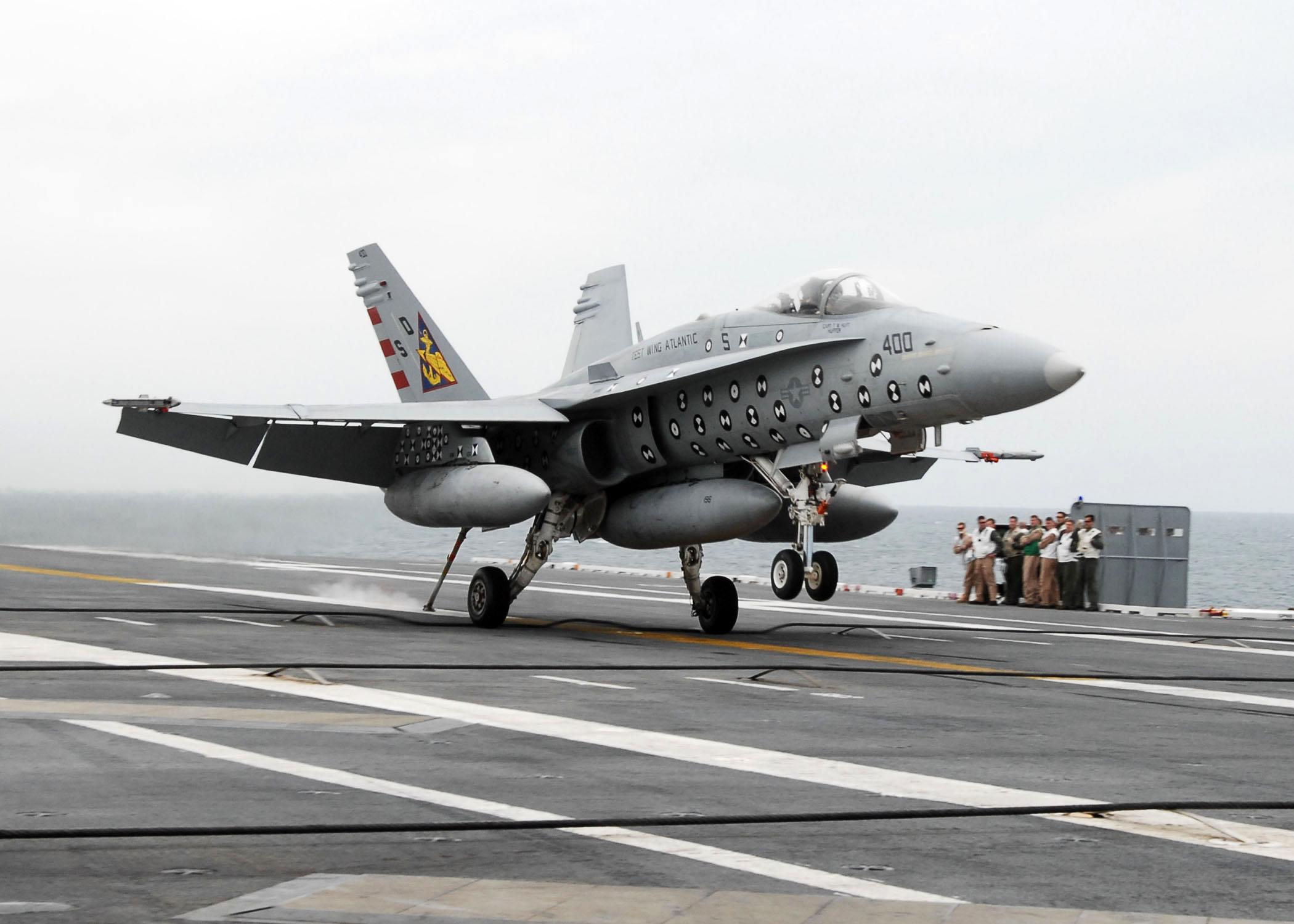 USS George H. W. Bush Aircraft Carrier