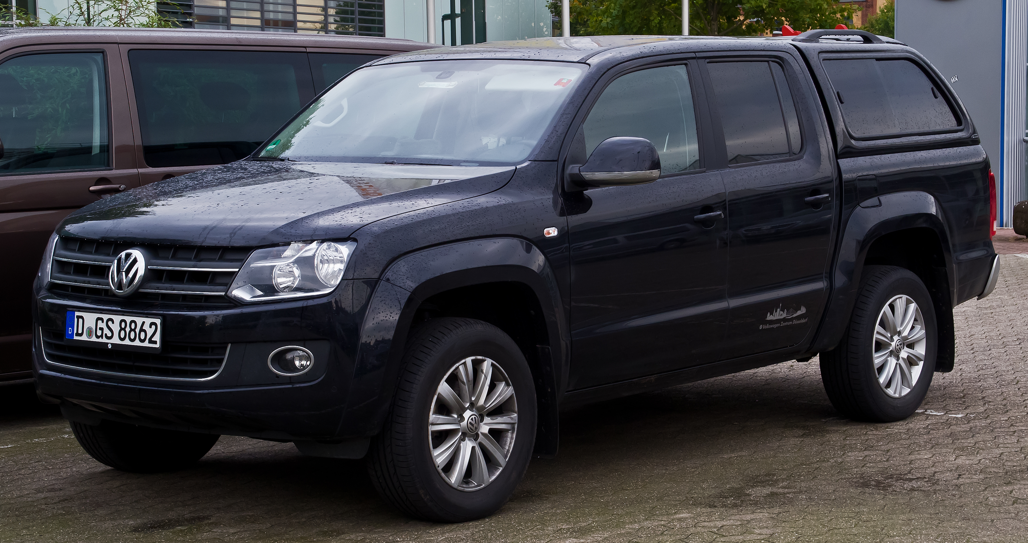 Vw Amarok Modified >> File:VW Amarok 2.0 TDI 4MOTION DC Highline – Frontansicht ...
