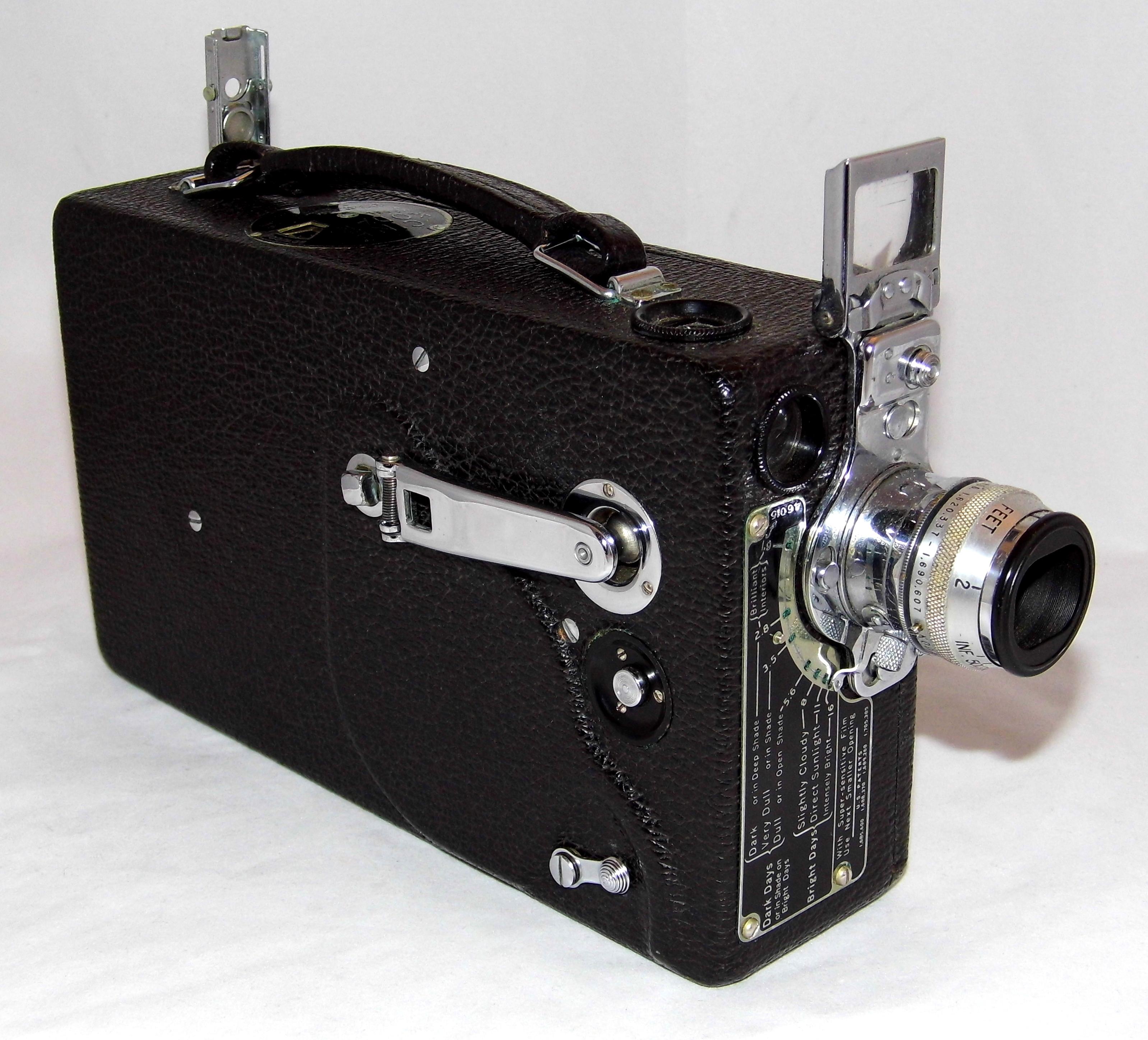 File:Vintage Cine-Kodak Model K 16mm Home Movie Camera, Made