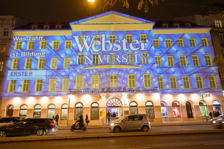 webster university The british national debate team is visiting webster university to debate with/against varsity webster debaters olivia potter and john wallis.