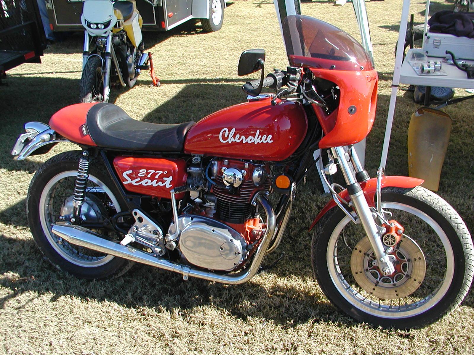 Yamaha Xs Cafe Racer