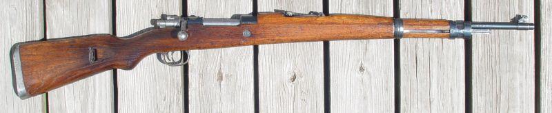 Yugoslav M48 Mauser rifle