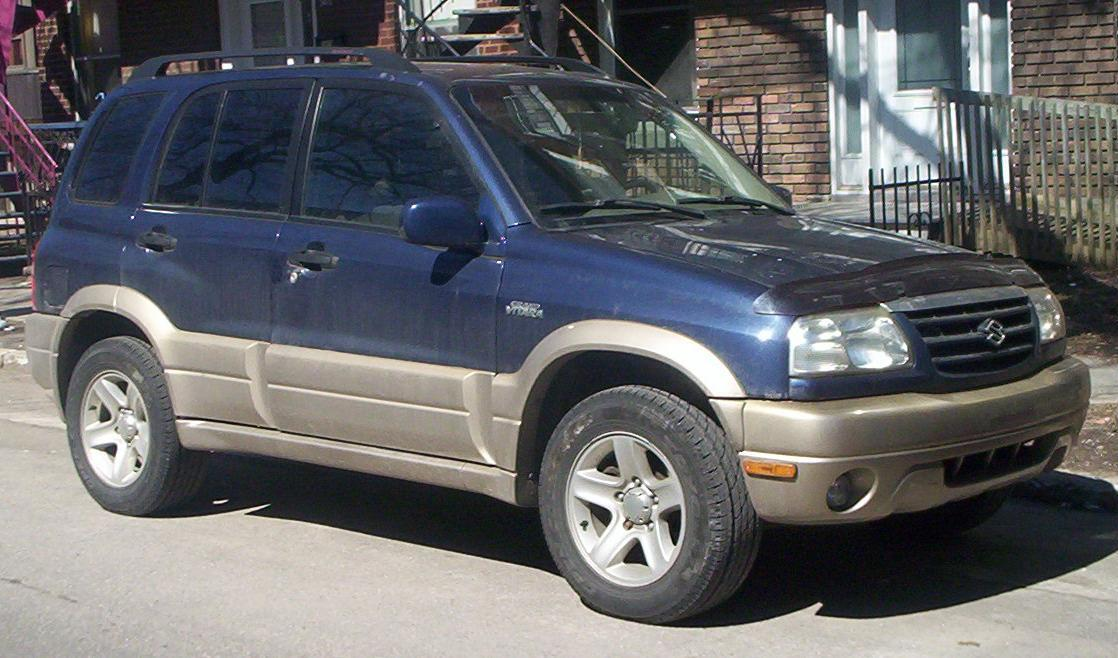 2002 Suzuki Grand Vitara JLX - 4dr SUV 2.5L V6 4x4 Manual