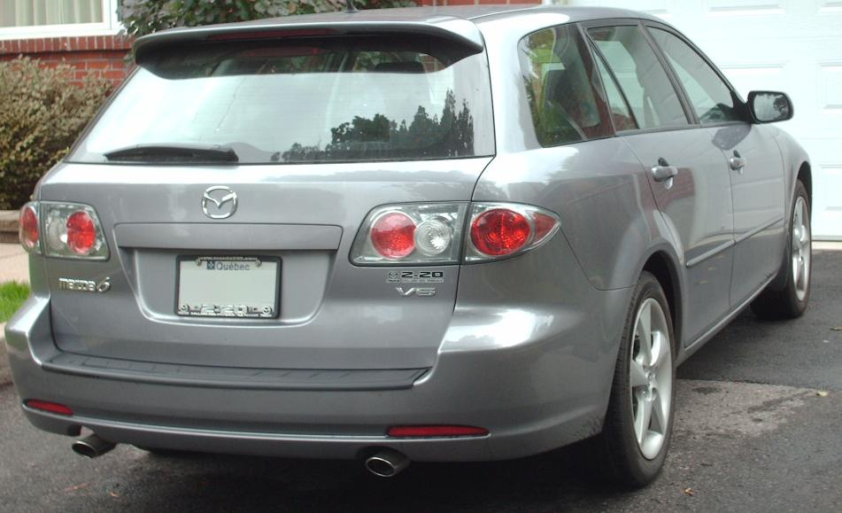File 06 08 Mazda6 Wagon V6 Jpg Wikimedia Commons