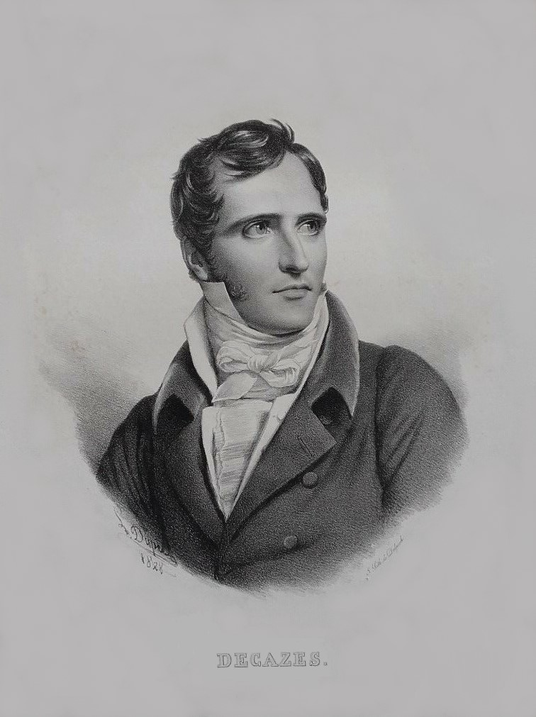 Élie, duc Decazes French judge and politician