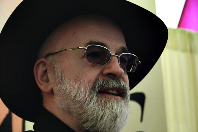 Terry Prachett, April 2005