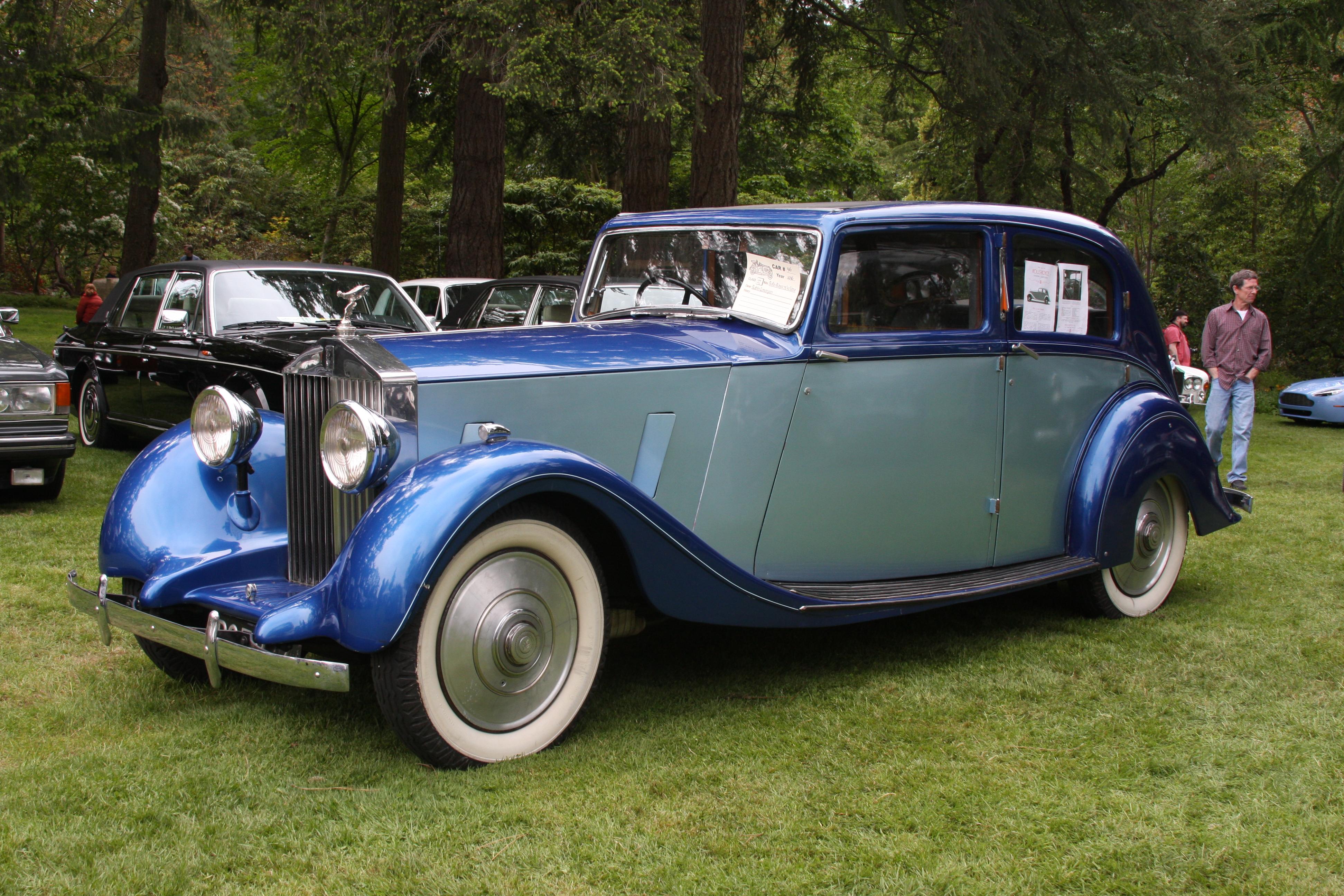 Rolls Royce Limo >> File:1936RollsRoyce25-30Limo.jpg - Wikimedia Commons