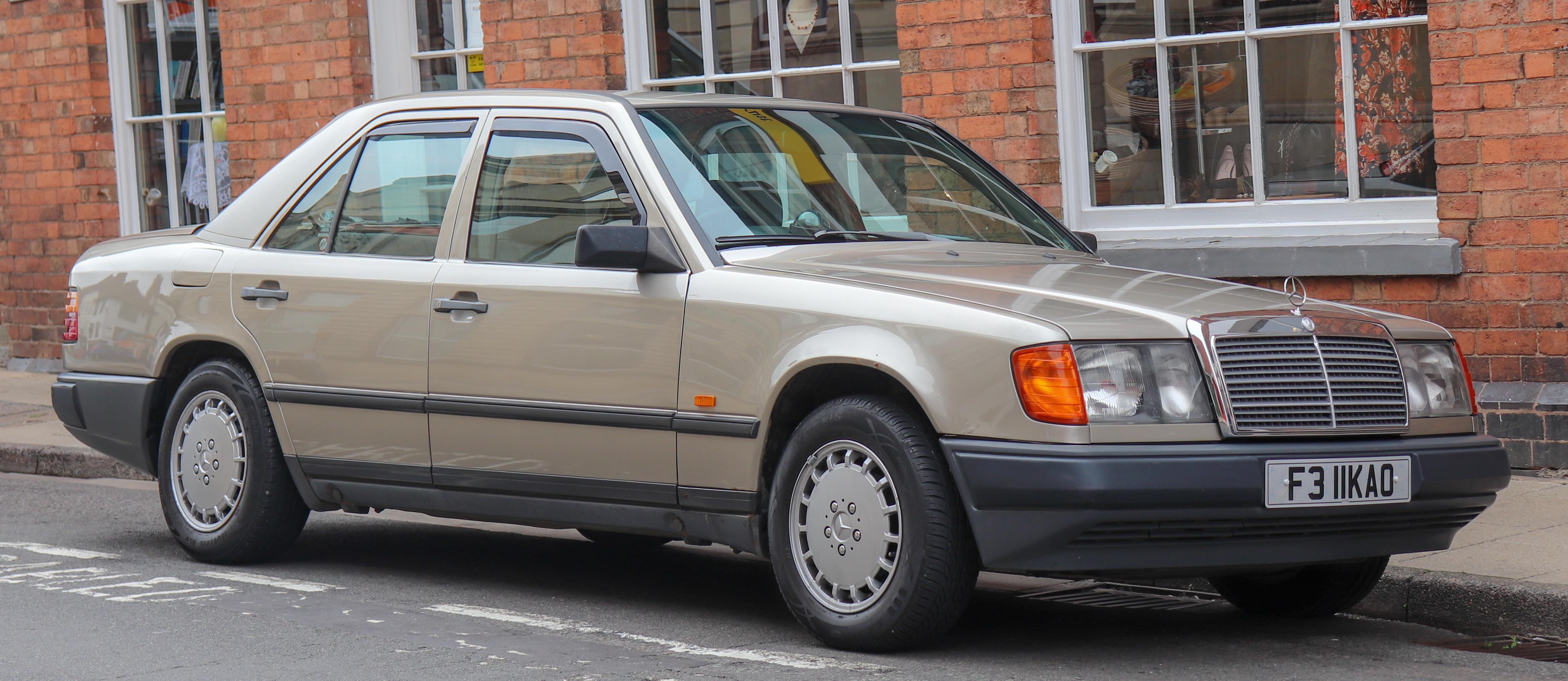 Mercedes Benz W124 Wikiwand