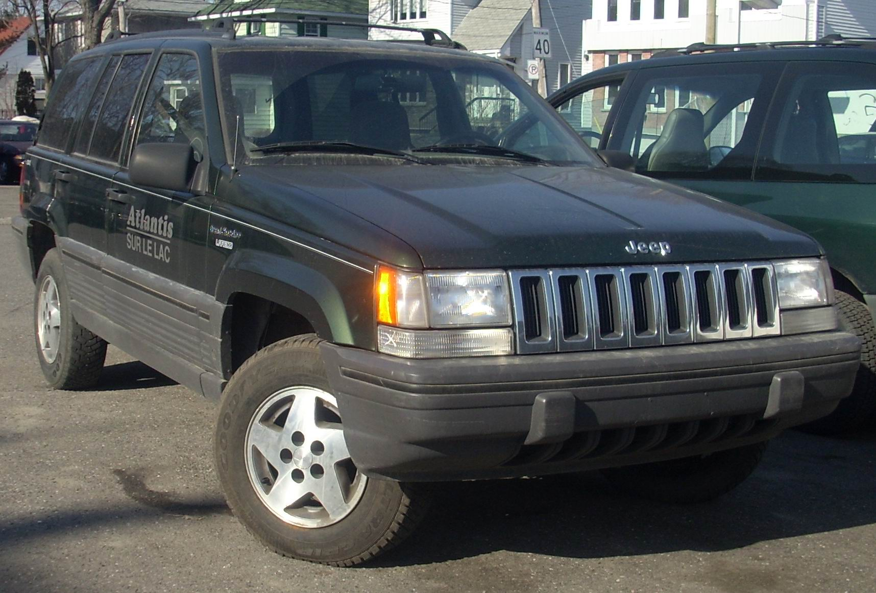 file 1993 95 jeep grand cherokee laredo 4x4 jpg wikimedia commons. Cars Review. Best American Auto & Cars Review