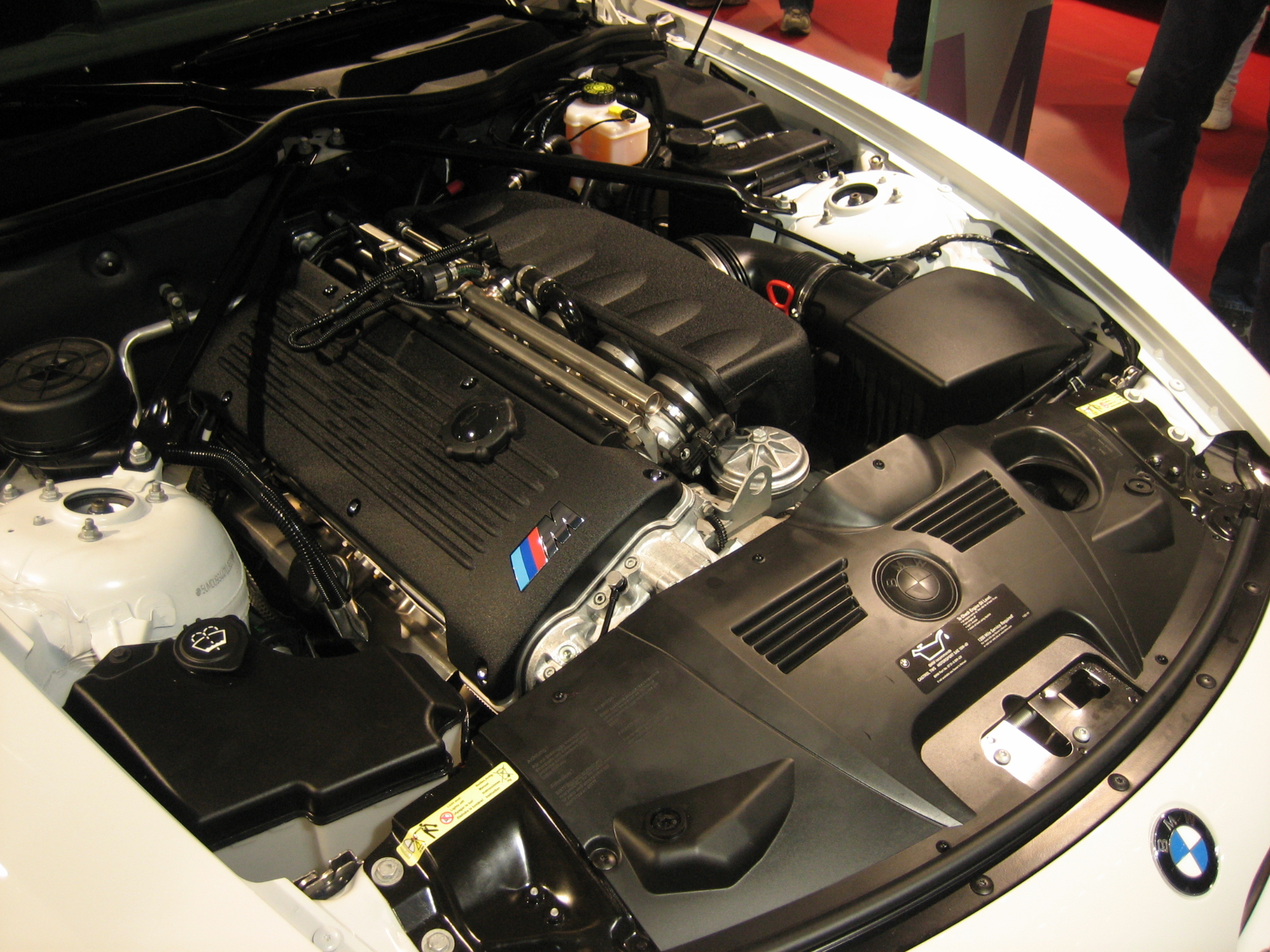 File 2007 Bmw Z4 M Coup 233 Engine Jpg Wikimedia Commons