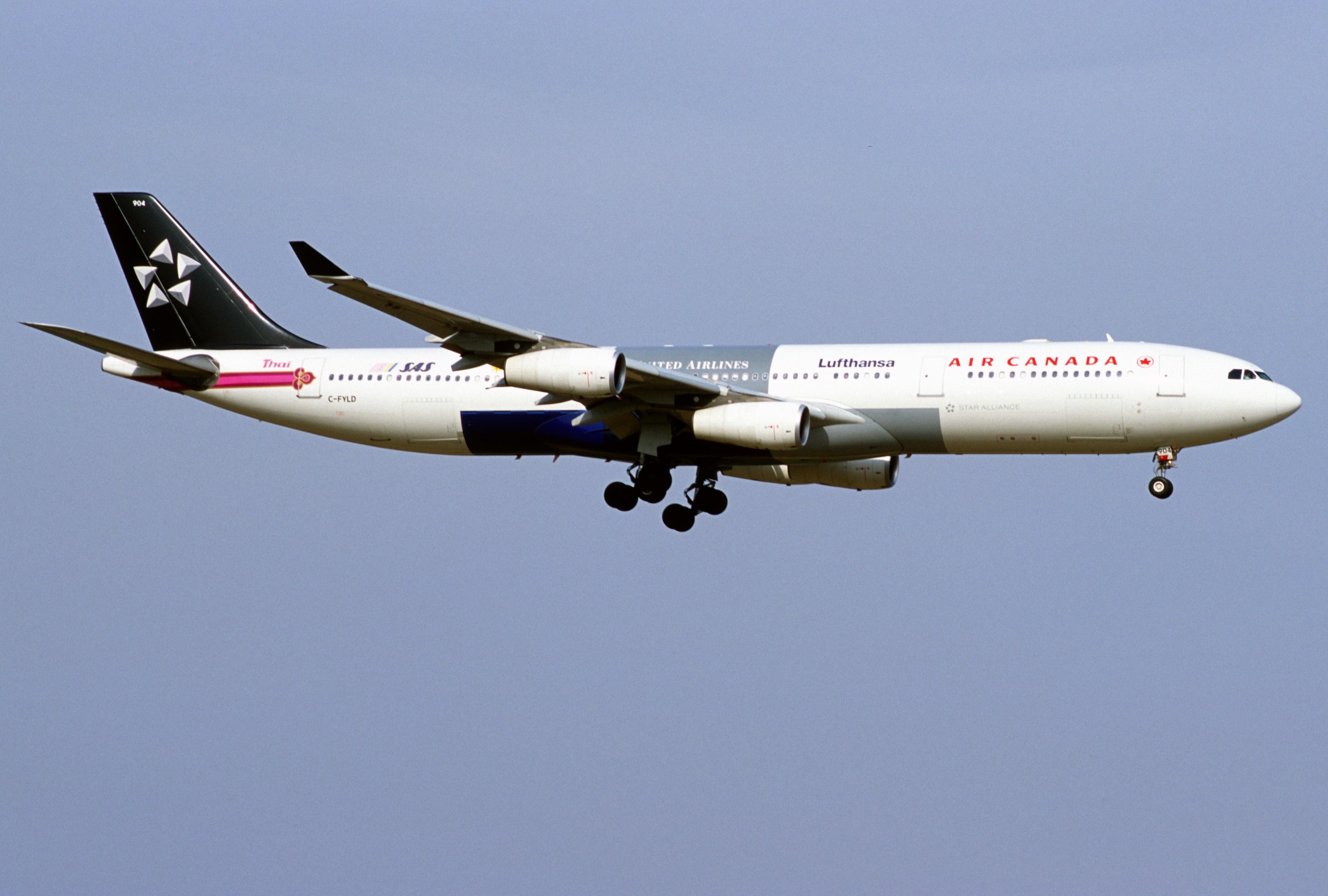 Air Canada Star Alliance 74
