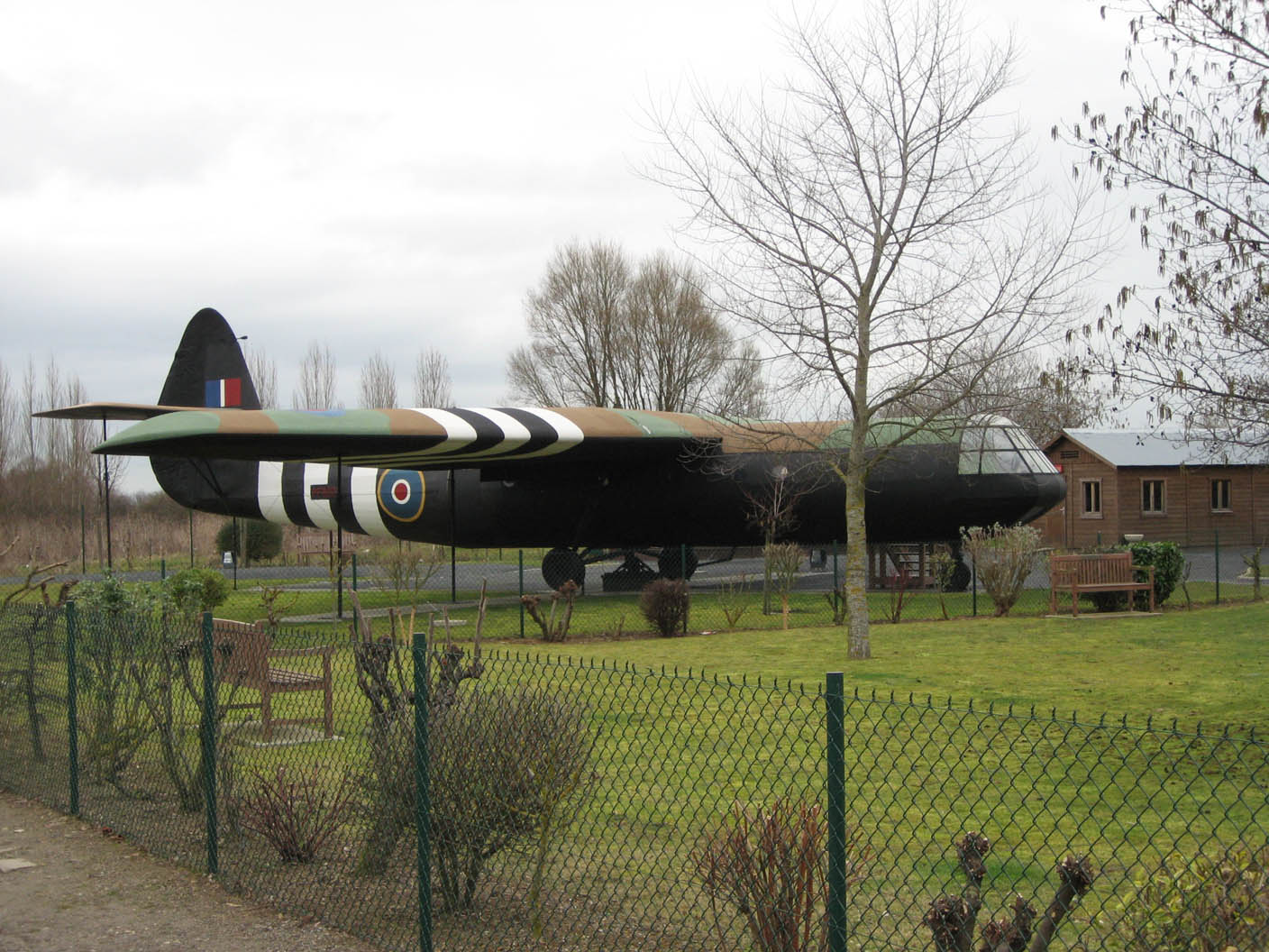 Airspeed AS.51 Horsa, World War II glider. Taken at the Pegasus Bridge Museum, Bénouville, France, February 2008. Author: Fodfish (Image via Wikipedia, ref. 2)