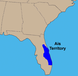 Map of Ais Indian Territory