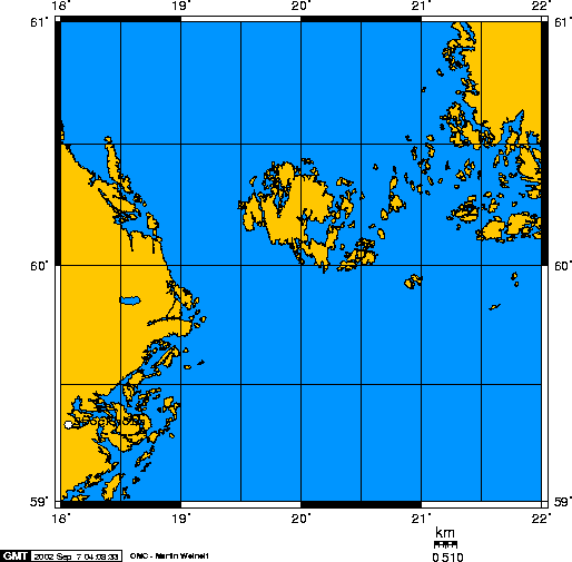 Åland Islands Dispute Wikipedia - Aland islands political map