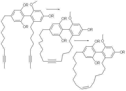 closing alkyne metathesis