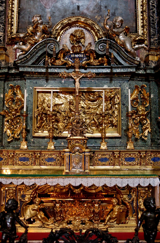 File Altar St Ignatius Pozzo N2 Jpg Wikimedia Commons