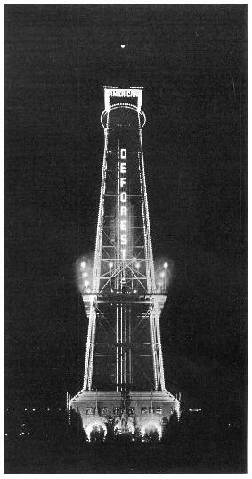 American DeForest Wireless Telegraph Company's observation tower, 1904 Louisiana Purchase Exposition at Saint Louis, Missouri American DeForest Wireless Telegraph Company's observation tower, 1904 Saint Louis Louisiana Purchase Exposition.JPG
