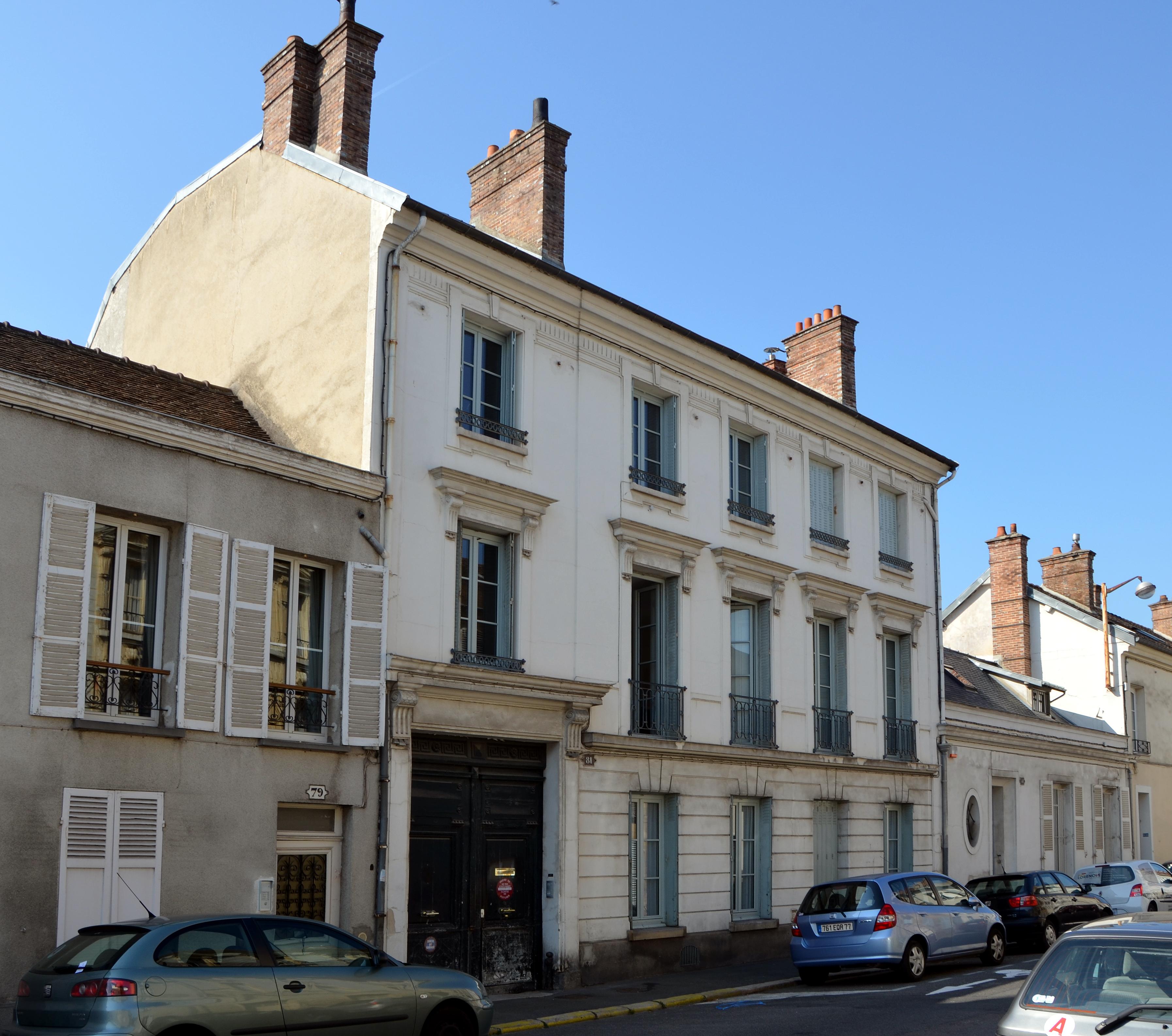File ancien hotel de beauharnais 81 rue de france a for Hotel fontainebleau france