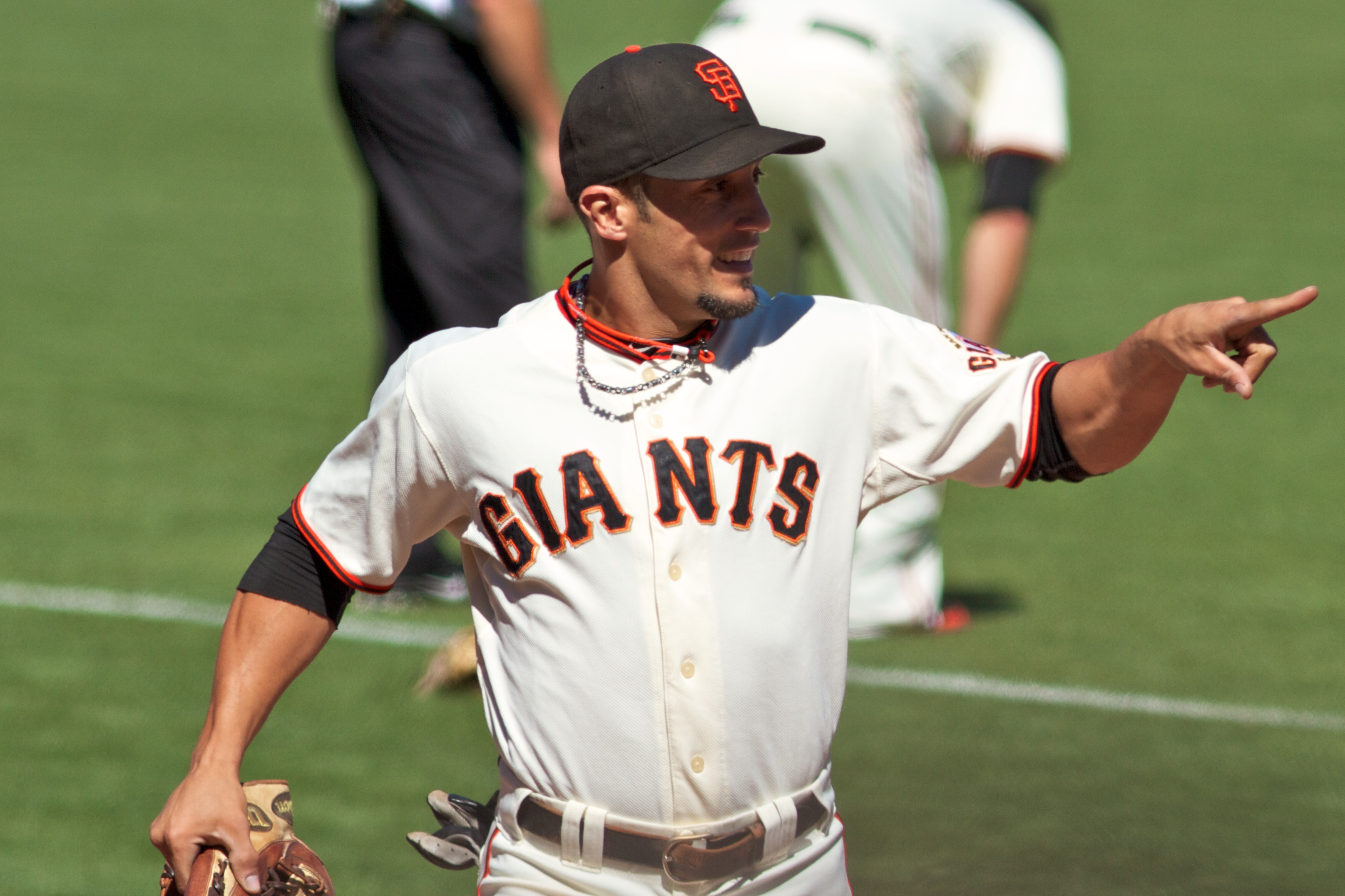 Torres with the San Francisco Giants