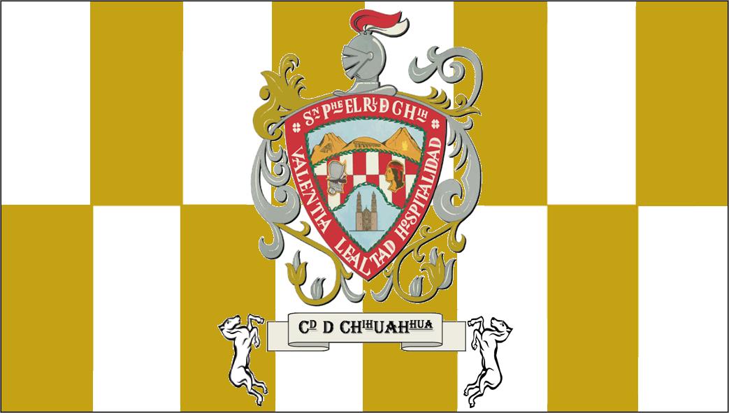 bandera del municipio de chihuahua 2006-presente.png