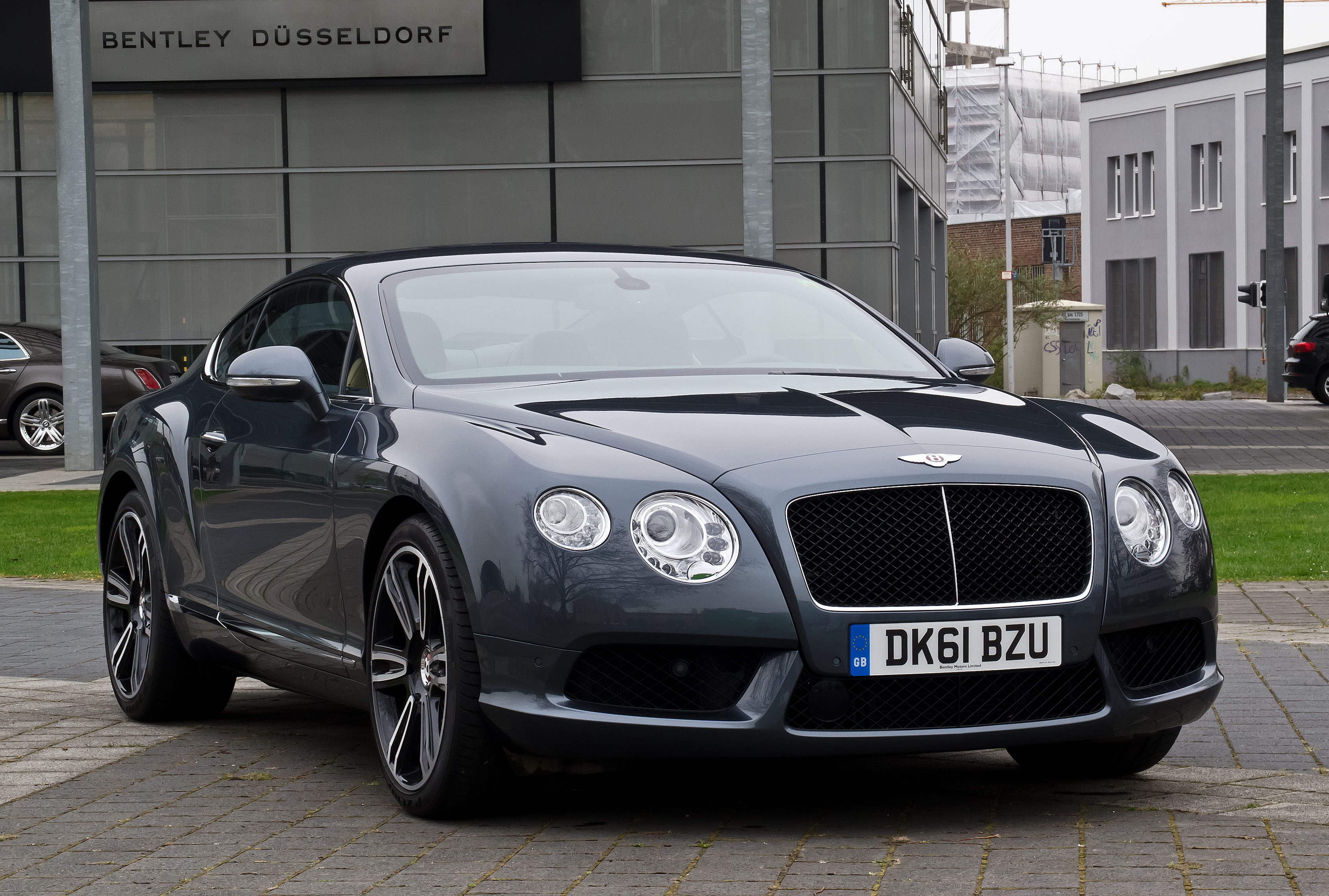 File Bentley Continental Gt V8 Ii Frontansicht 1 5