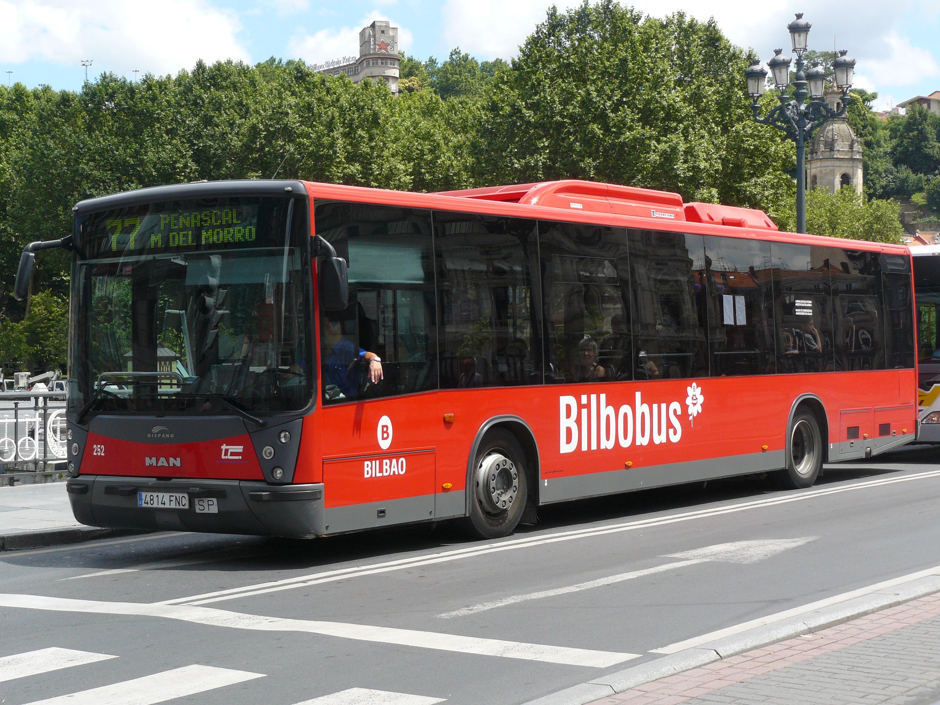 Depiction of Bilbobus