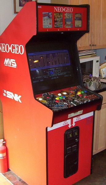 borne arcade neo
