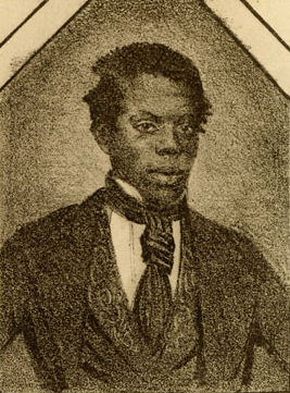 Portrait de William Henry Lane sans le blackface