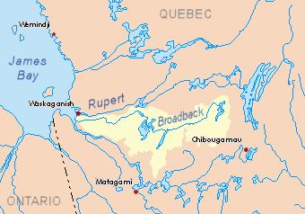 Broadback map