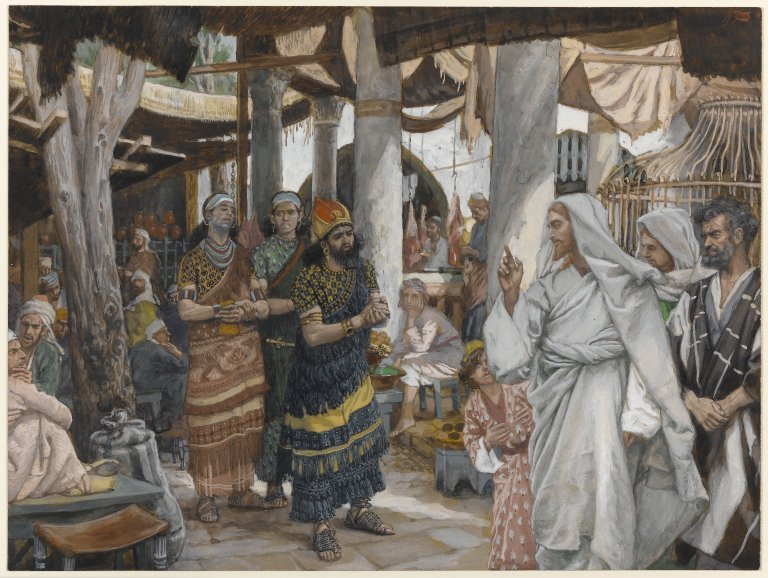 File:Brooklyn Museum - The Healing of the Officer's Son (La guérison du fils de l'officier) - James Tissot.jpg