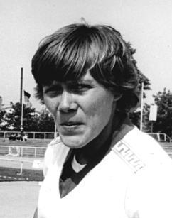 Sabine John East German heptathlete