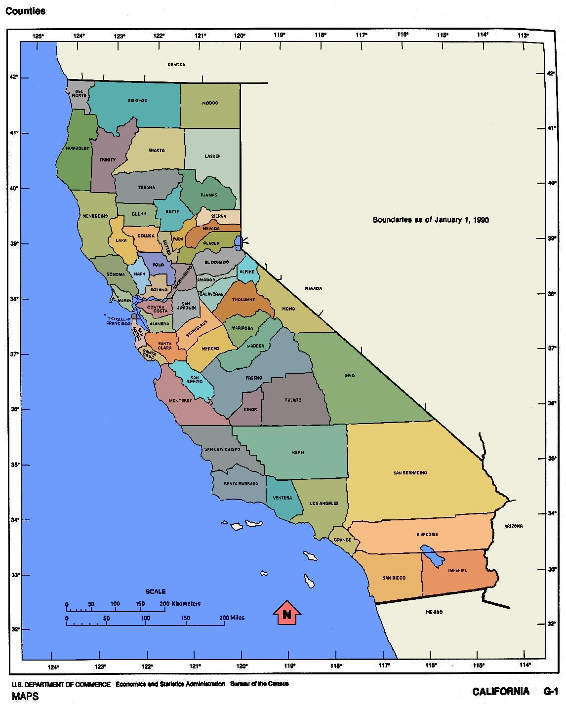 FileCalifornia Mapjpg Wikimedia Commons - A map of california cities