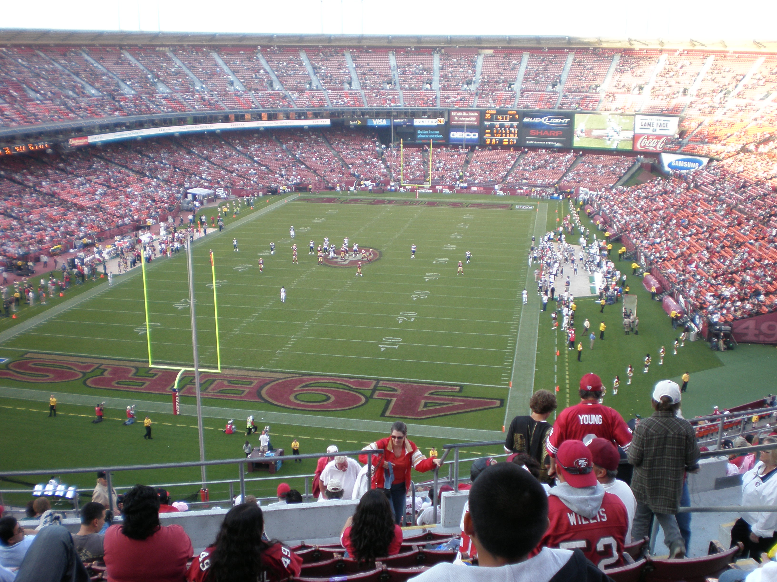File Candlestick Park During Rams At 49ers 2008 11 16 Jpg