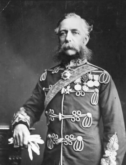 лорд Кардиган, начальник лёгкой кавалерийской бригады, разбитой под Балаклавой
