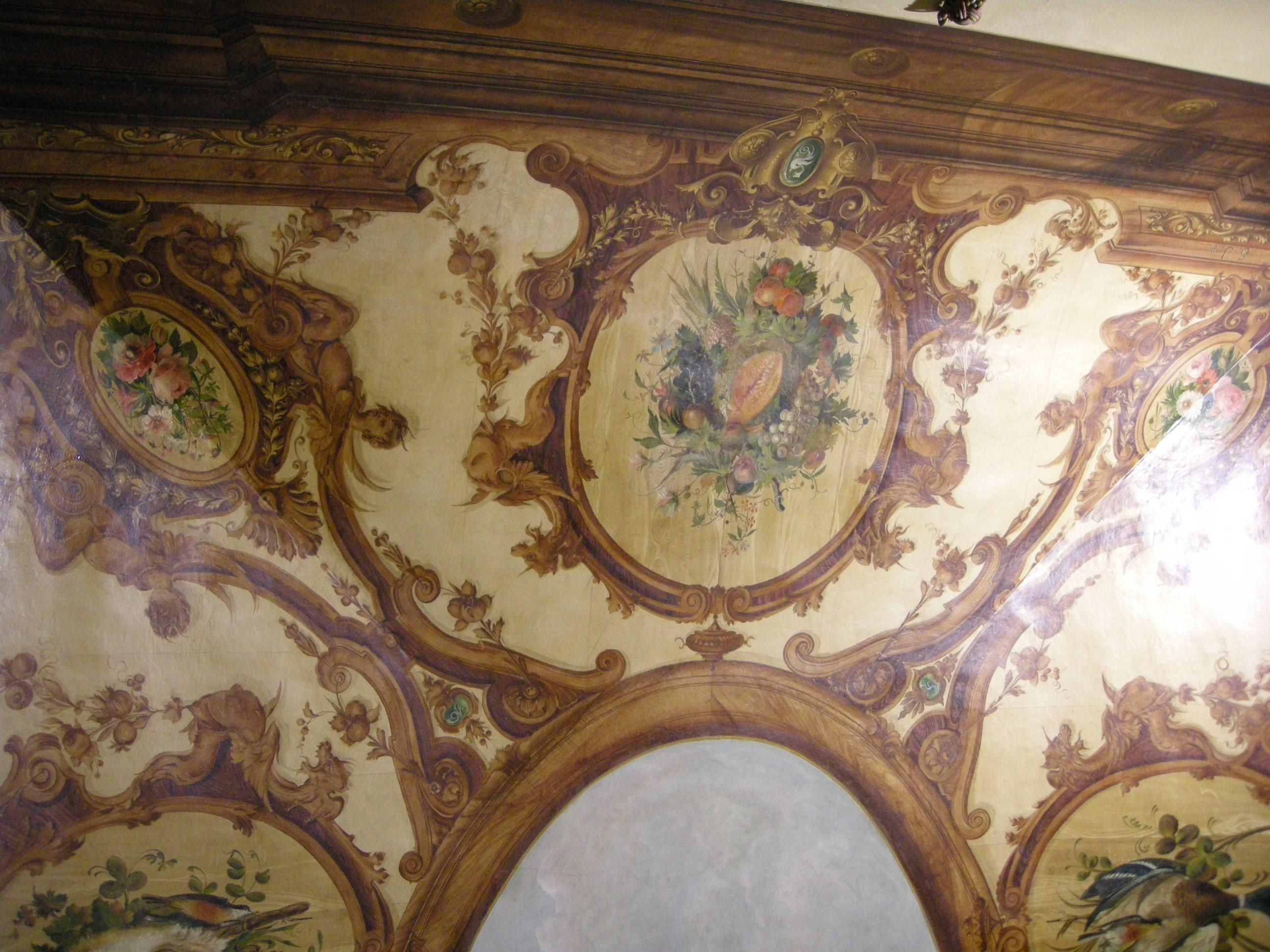 File:Casa Siviero Sala Da Pranzo Soffitto Di Stefano Ussi 03.JPG  #66472F 2592 1944 Sala Da Pranzo Dell'antica Casa Romana