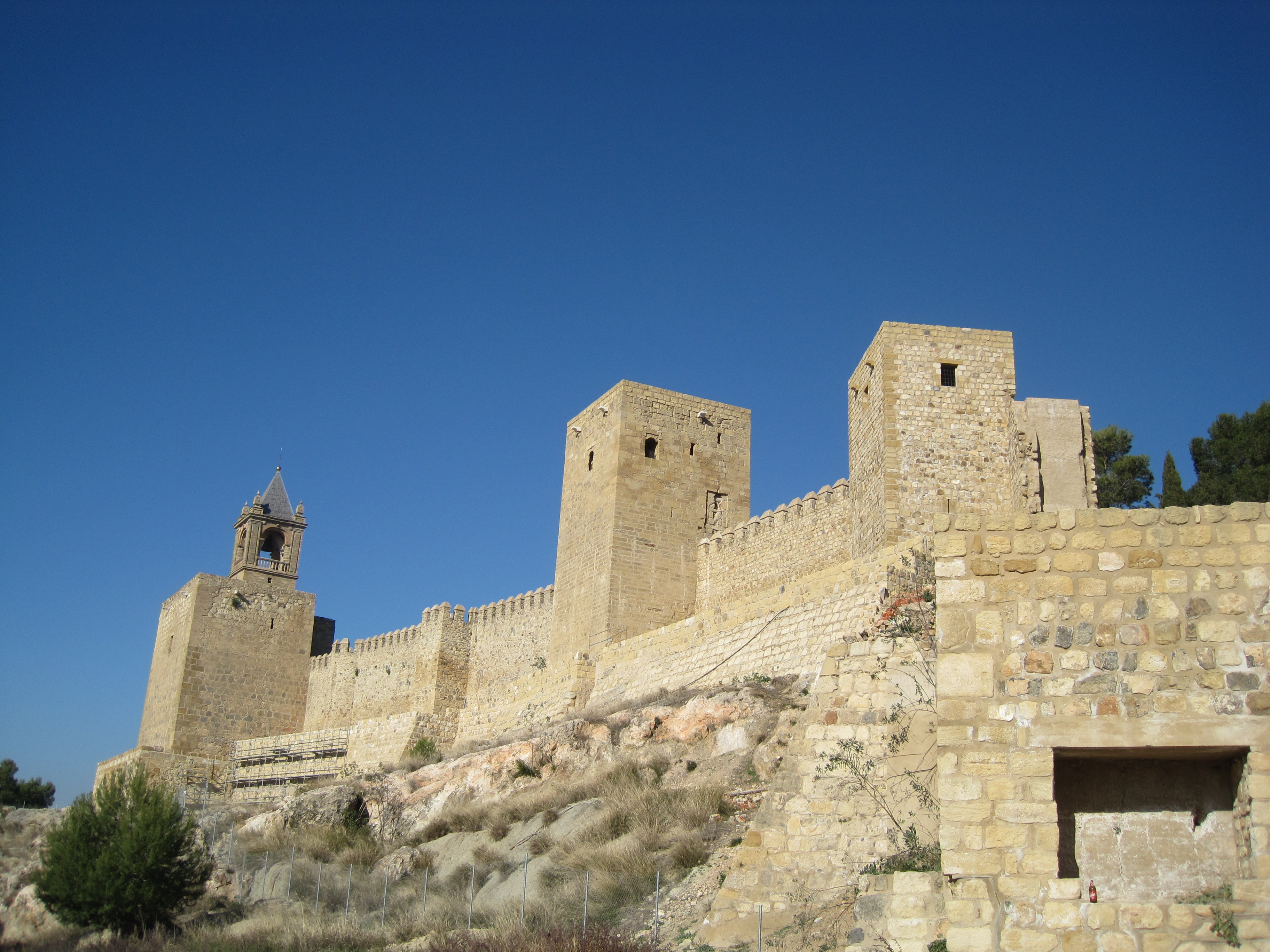 Antequera Spain  city images : Castle towers, Antequera, Spain Wikimedia Commons