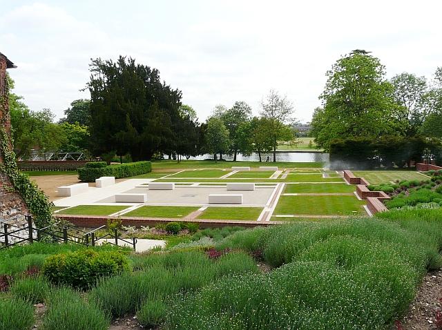 Caversham Court - the House Footprint