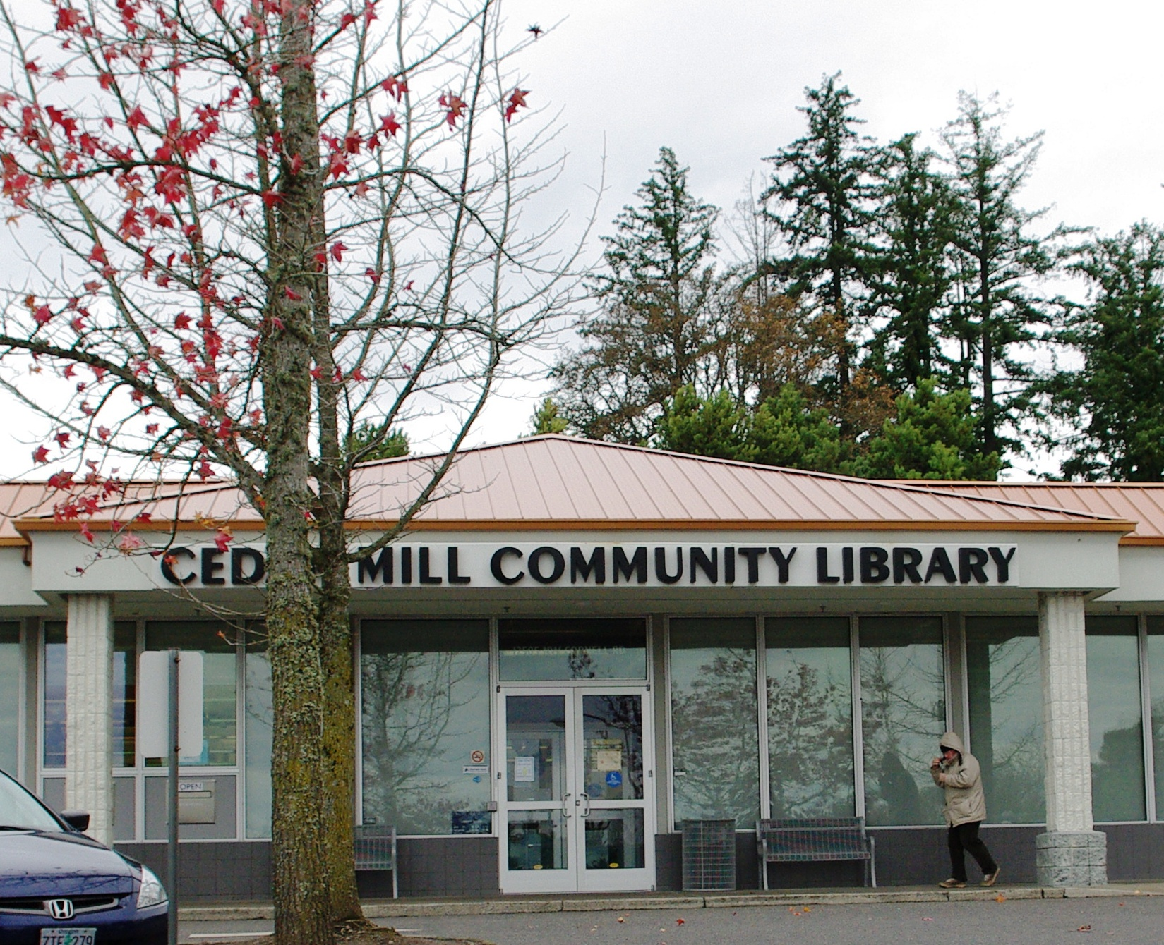 File cedar mill community library oregon jpg wikimedia for The cedar mill