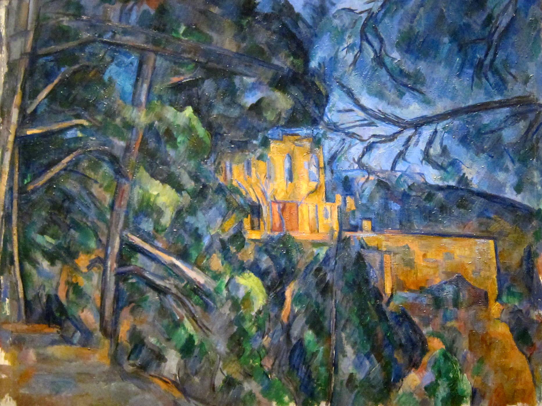 ملفchâteau Noir By Paul Cézanne National Gallery Of Art