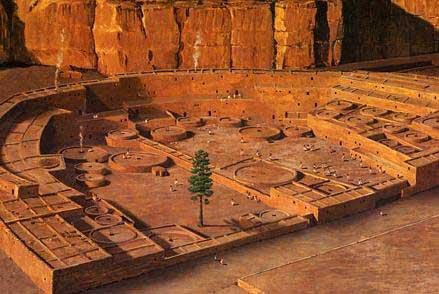 Chaco Canyon Pueblo Bonito digital reconstruction.jpg