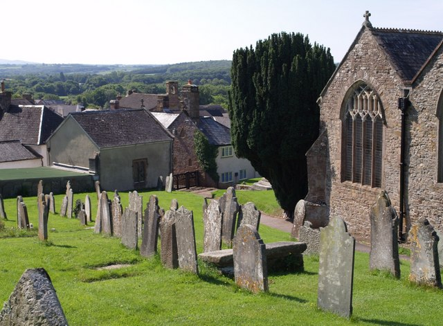 File:Churchyard, Hatherleigh.jpg