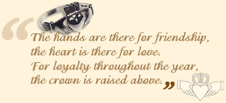 Love, Loyalty, and Friendship: The Story of the Claddagh Ring.
