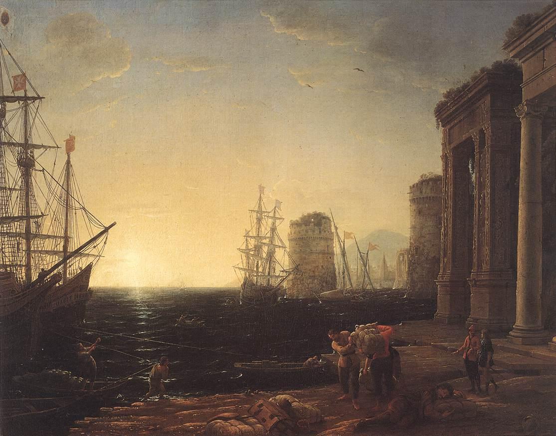 Famous Sunrise Paintings