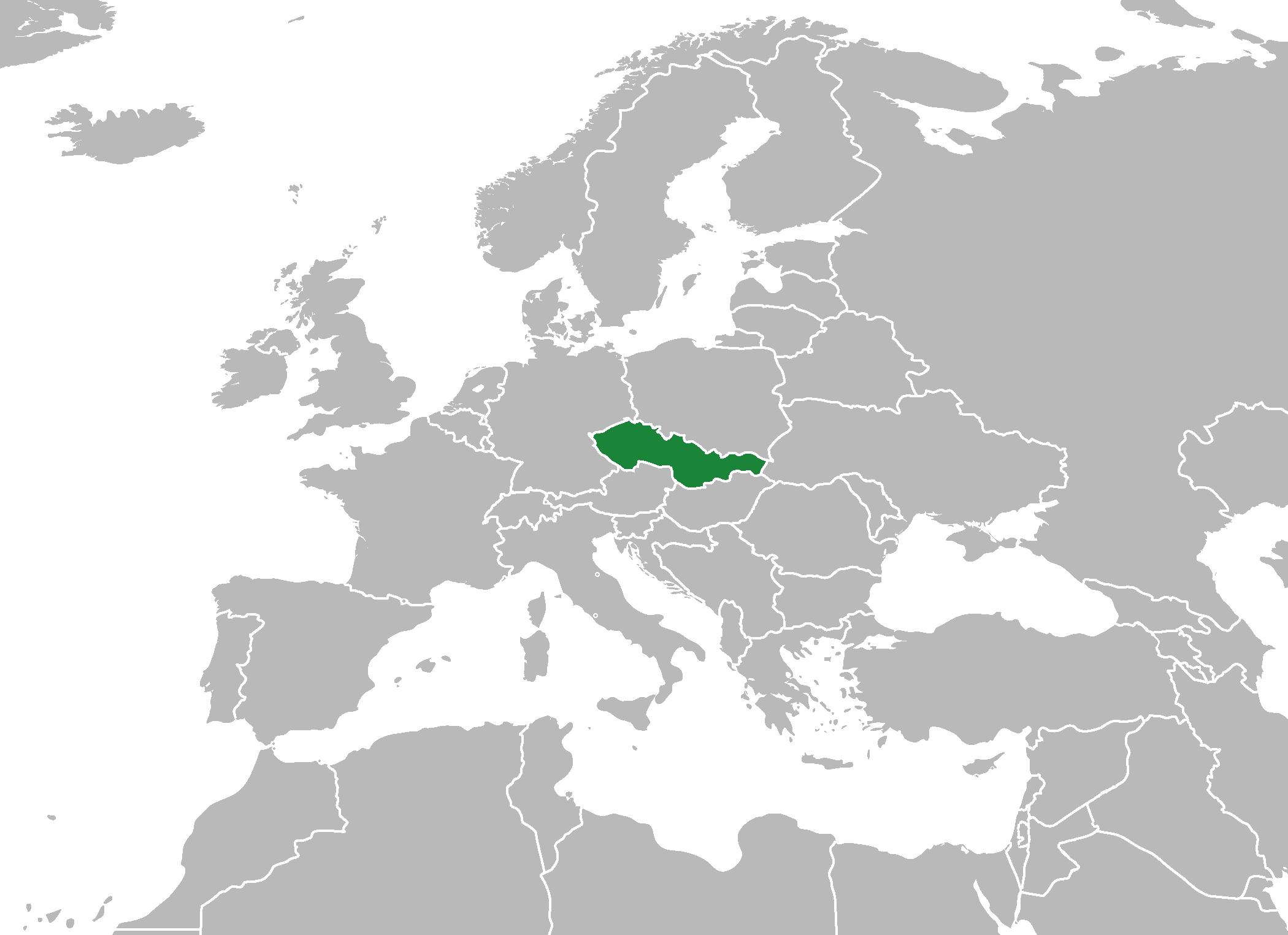 tsjekkoslovakia kart Tsjekkia FAKTA (osteuropa) tsjekkoslovakia kart