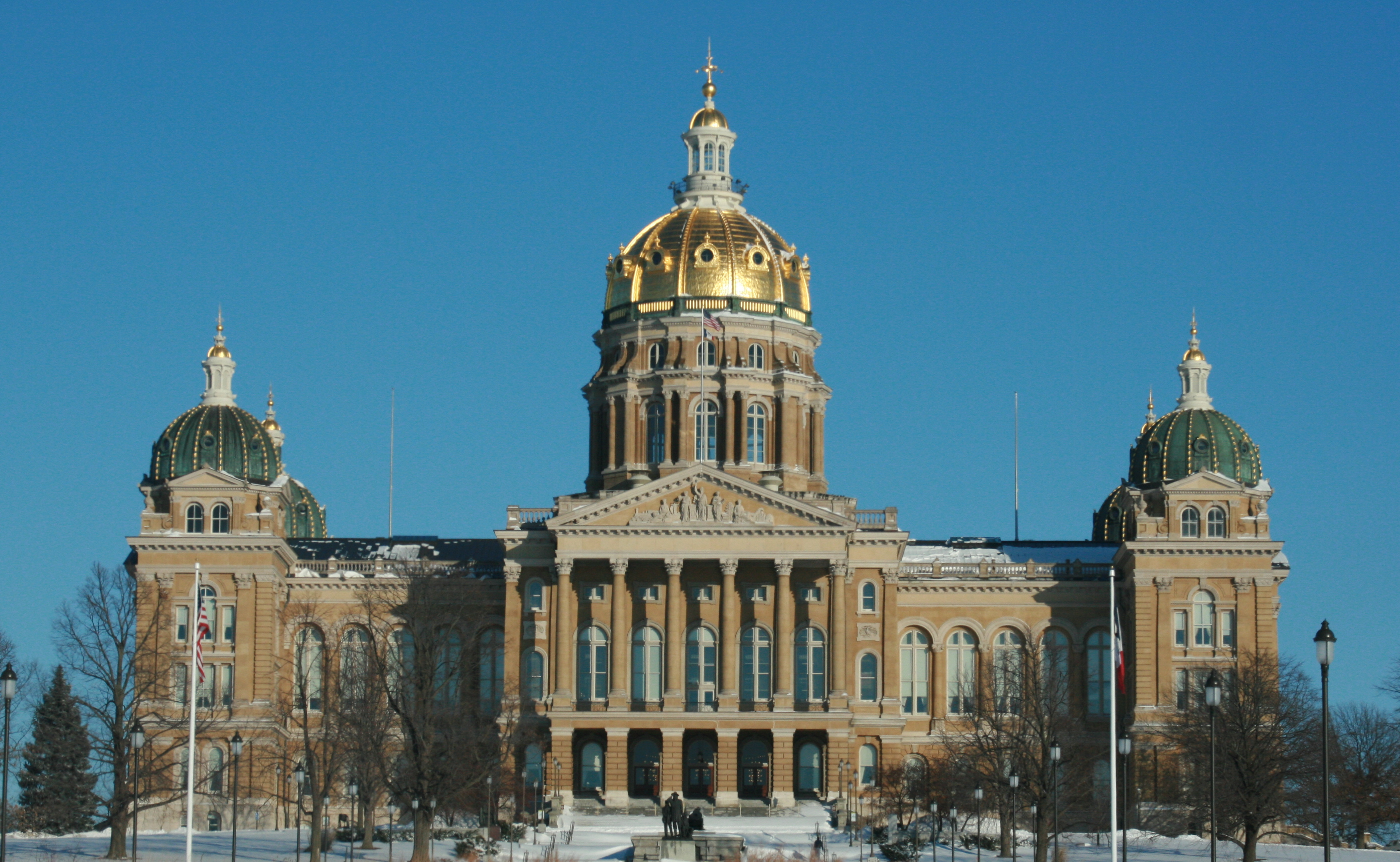File Des Moines 20090110 State Capitol Jpg