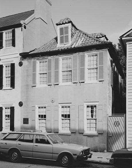 Casa de DuBose Heyward en Charleston.
